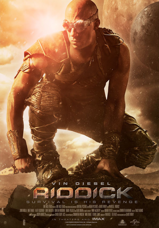 Riddick Survival is is Revenge Poster