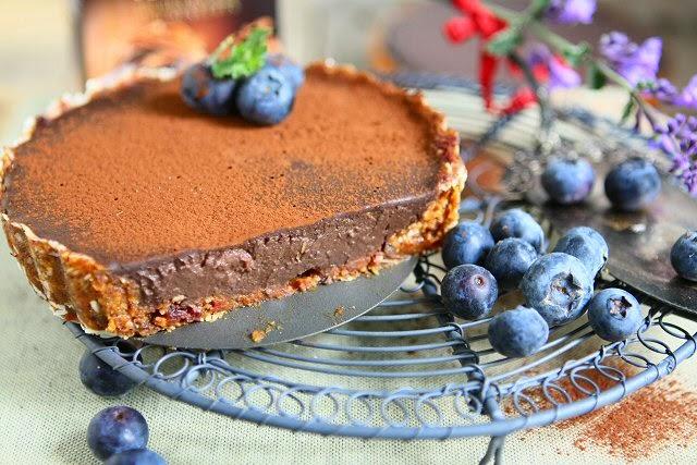 Blueberry Chocolate Tartlets