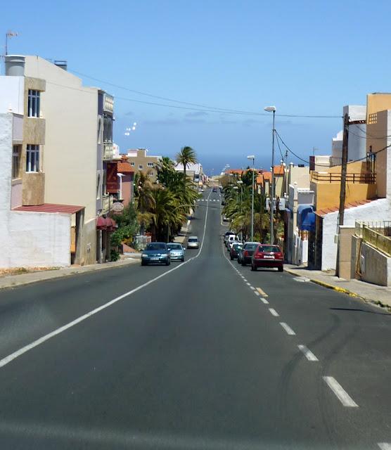 Straße in Ingenio