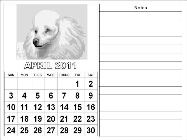 april 2011 calendar printable with. april 2011 calendar printable with. Printable April 2011 Calendar