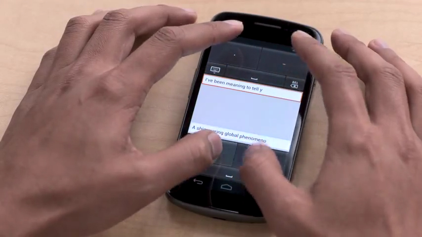 Gmail Tap replaces Default Keyboard – Video