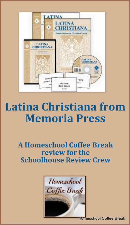 Latina Christiana from Memoria Press - A Schoolhouse Crew Review on Homeschool Coffee Break @ kympossibleblog.blogspot.com