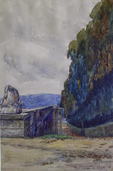 Ker Xavier Roussel - Garden scene