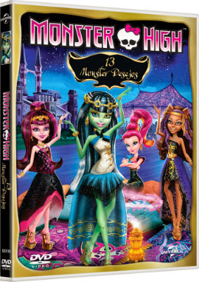 Filme Poster Monster High - 13 Monster Desejos DVDRip XviD & RMVB Dublado