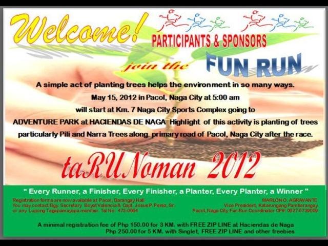 May 2012 naga city deck for Fun run certificate template