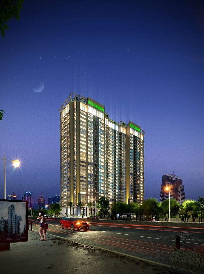 Vị trí chung cư Eco Dream City Nguyễn Xiển