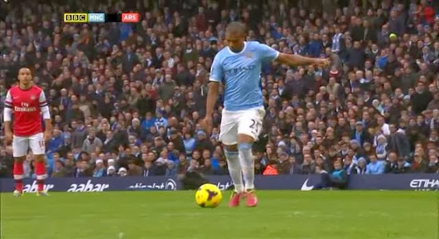 Fernandinho, Manchester City - Arsenal