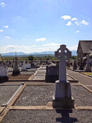 Cemetery at Keel, County Kerry. From Music, Ireland, Love: The Carnival at Bray