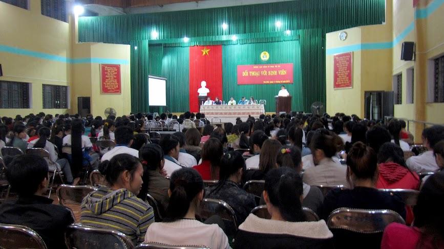 Trường Cao đẳng Sư phạm Yên Bái tổ chức đối thoại với sinh viên