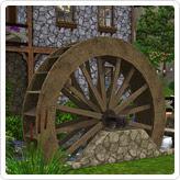 """Водяное колесо """"Старая мельница"""""""
