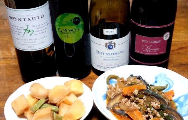 マーボーナスとワインの合性