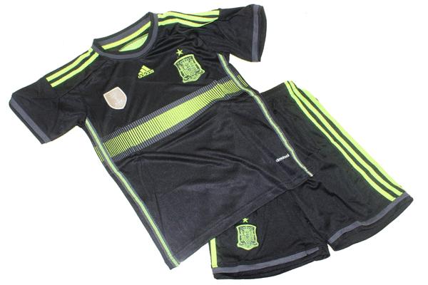 Jual Jersey Bola Anak Spanyol Away Piala Dunia 2014