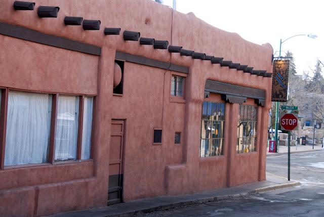 adobe buildings in Santa Fe New Mexico