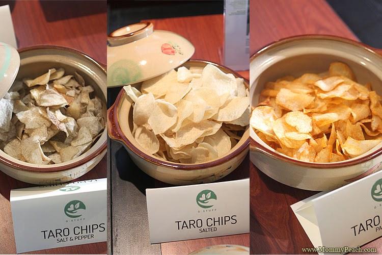 G Stuff Taro Chips