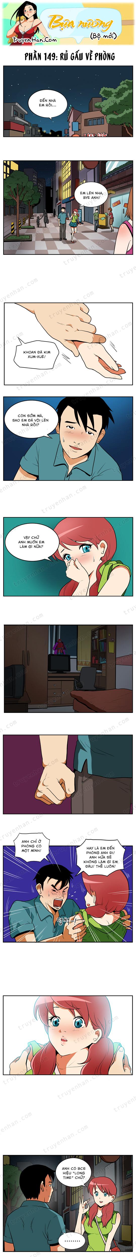 Bựa nương (bộ mới) phần 149: Rủ gấu về phòng