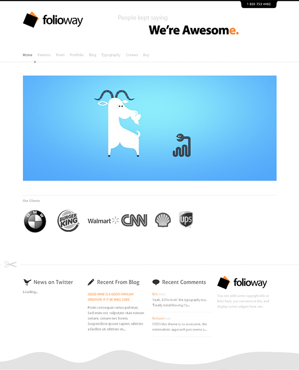 Folioway Flexible WordPress Theme