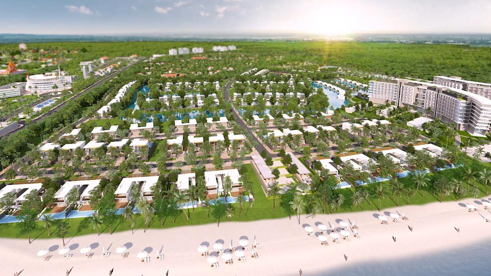 LDG chính thức cho nhận giữ chỗ Biệt Thự Biển Grand World Phú Quốc