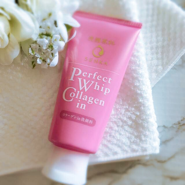 Senka Perfect Whip Collagen-In Facial Cleanser