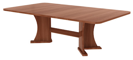 "82"" x 40"" Victoria Conference Table in Sunrise Cherry"