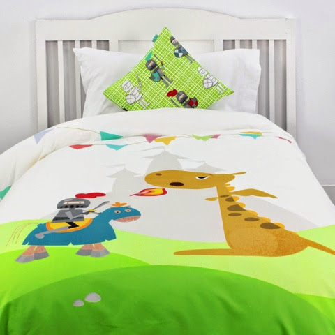 Mr Fox Knights Bedding