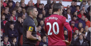 Robin van Persie, Swansea - Manchester United