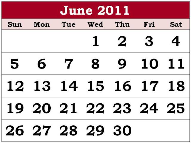 june 2011 calendar. june 2011 calendar images.