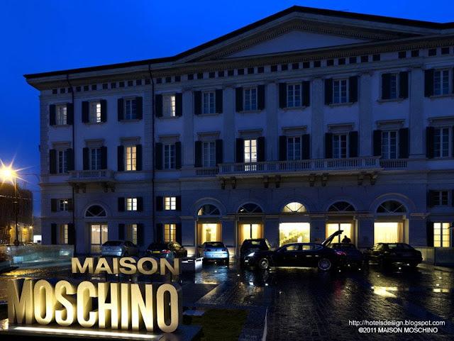 Maison Moschino_2_Les plus beaux HOTELS DESIGN du monde