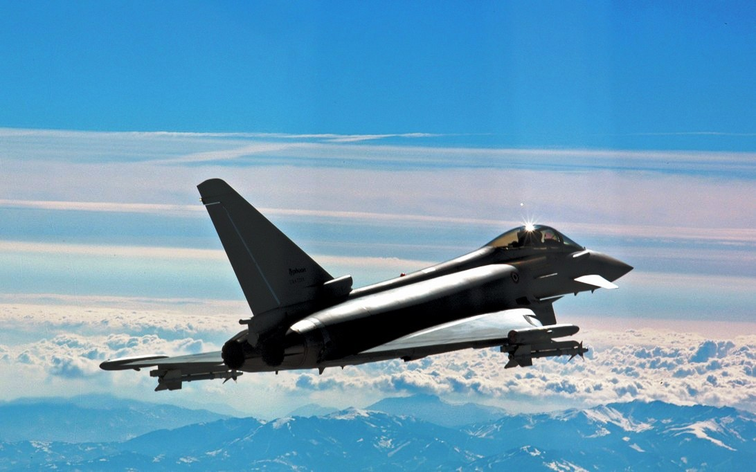 Eurofighter Typhoon Jet Fighter Wallpaper 4
