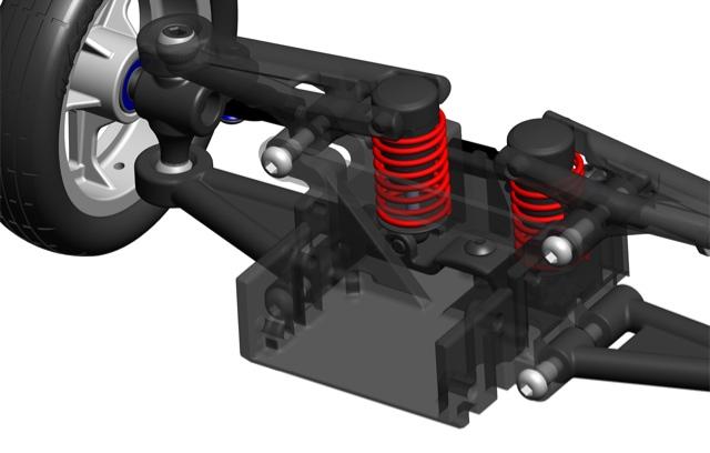 traxxas funny car 3d diagram pictures rc drag racing. Black Bedroom Furniture Sets. Home Design Ideas