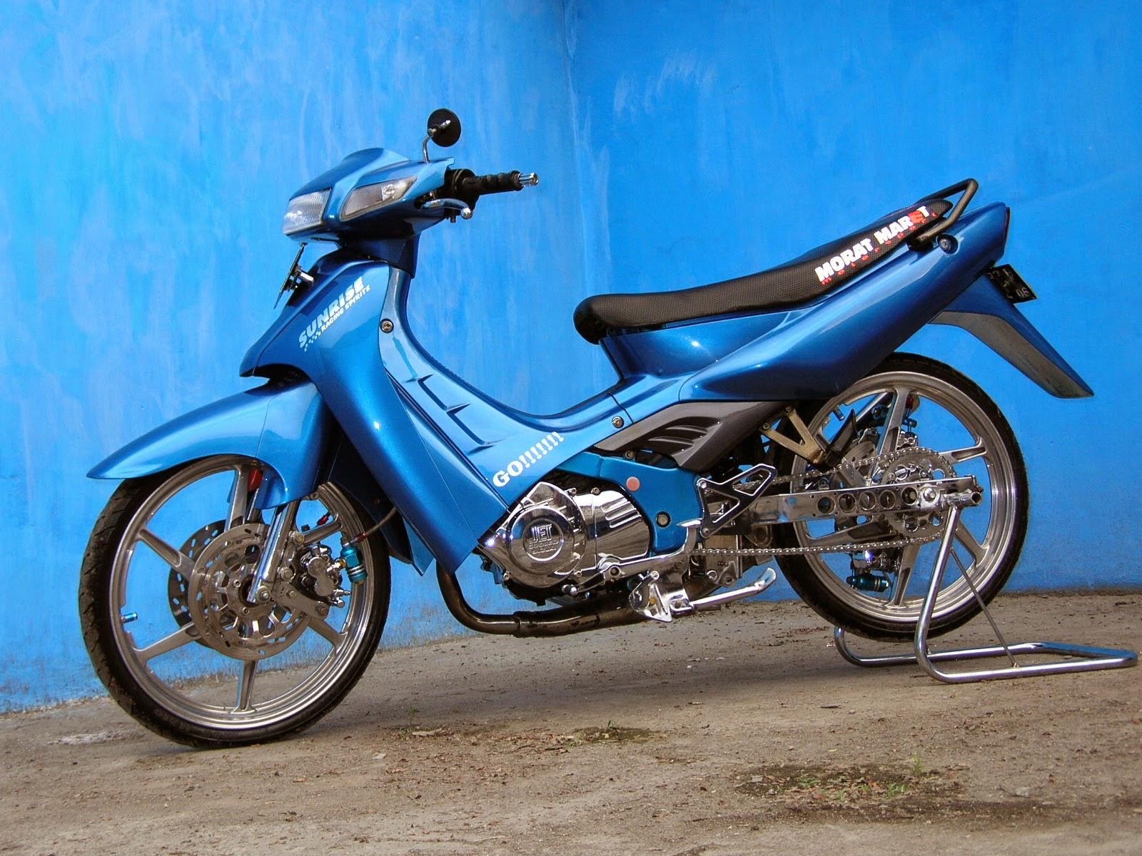 Suzuki Satria Ru Modifikasi Trail