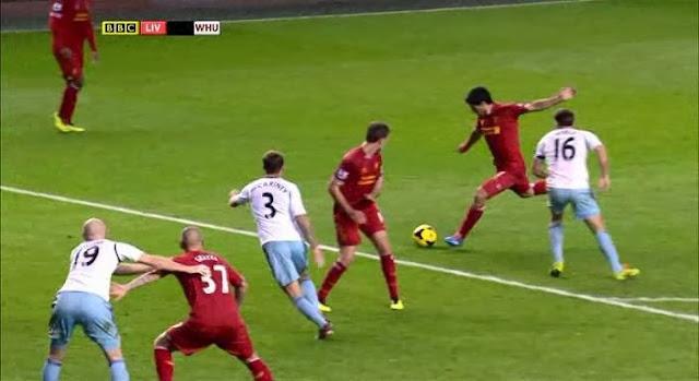 Suarez, Liverpool - Westham