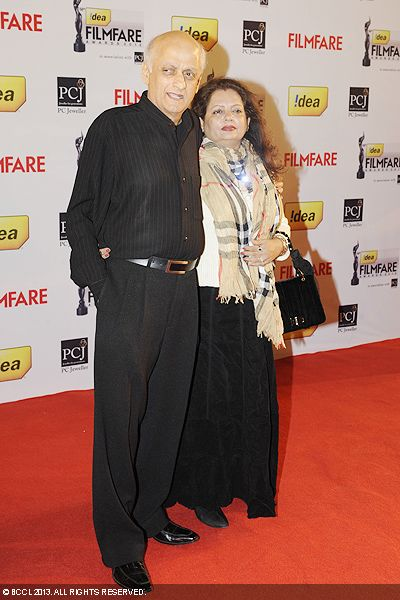 Mukesh Bhatt during the 58th Idea Filmfare Awards 2013, held at Yash Raj Films Studios in Mumbai.Click here for:<br />  58th Idea Filmfare Awards
