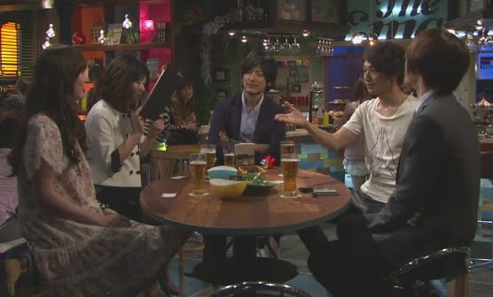 Main cast of Sunao ni Narenakute