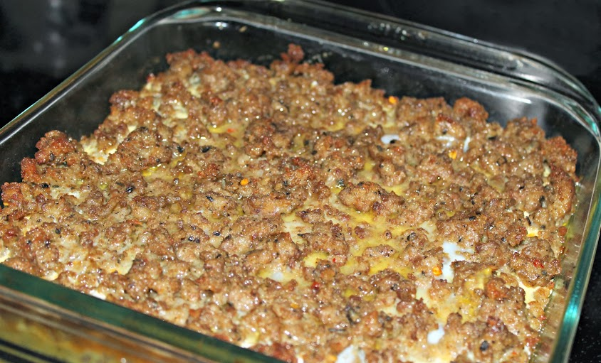 Sausage Breakfast #Casserole #Recipe