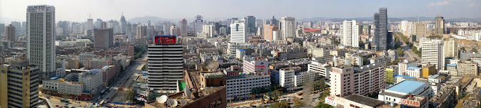 Panorama of Kunming (courtesy of BMCL)
