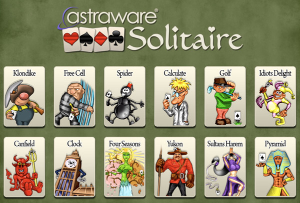 Astraware Solitare