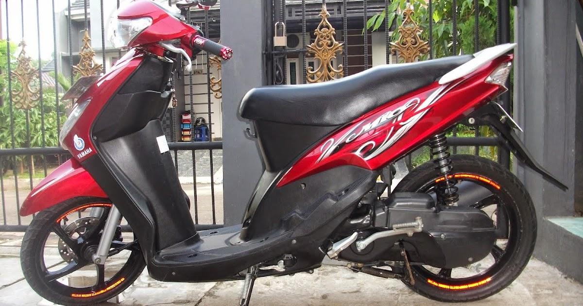 54 Modifikasi Mio Sporty Merah Konsep Terbaru