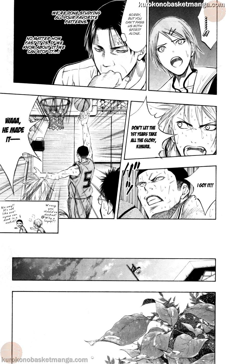 Kuroko no Basket Manga Chapter 89 - Image 11