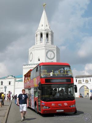 Казанский двухэтажный автобус