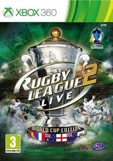 Rugby League Live 2 World Cup Edition   XBOX 360