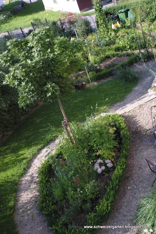 Ein Schweizer Garten: Vorher-Nachher-Bilder