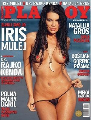 Revista Playboy Eslovênia Janeiro 2012