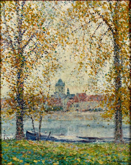 Karl Albert Buehr – Along the River, France