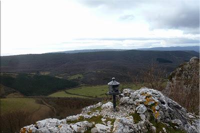 Vistas desde la cima de Atxabal/Peñas de Oro