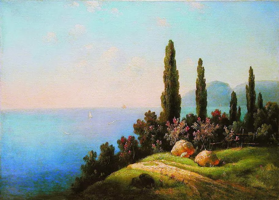 Gavril Kondratenko - Crimea. Sea View