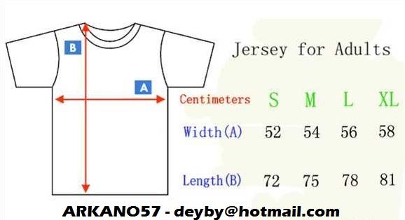 [VENDO] Camisetas de fútbol - Temp. 15/16 (Calidad y recepción del paquete garantizadas)