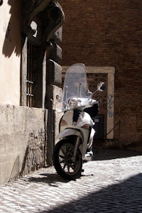 Motorcycle in Rome