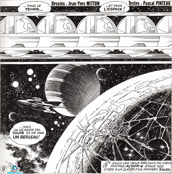 Page 9 de la BD Leonard de Vinci vendue a Mirapolis