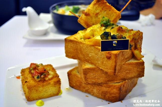 NU-PASTA拿坡里茄香雞肉吐司塔塔