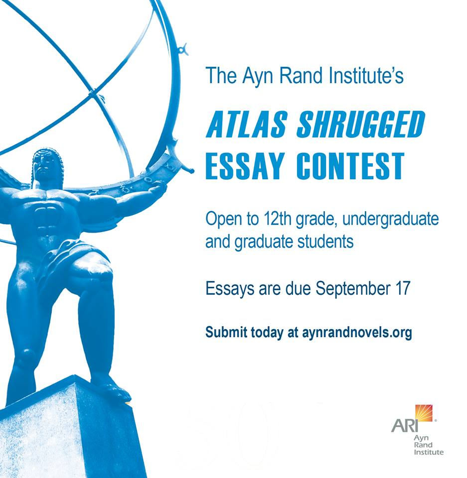 ayn rand essay contest anthem winners  ayn rand essay contest scholarships scholarship hunter